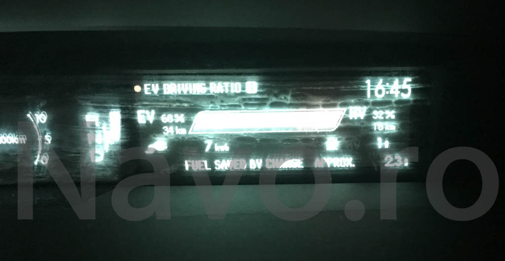 Prius gen 3 blurred dashboard indicators