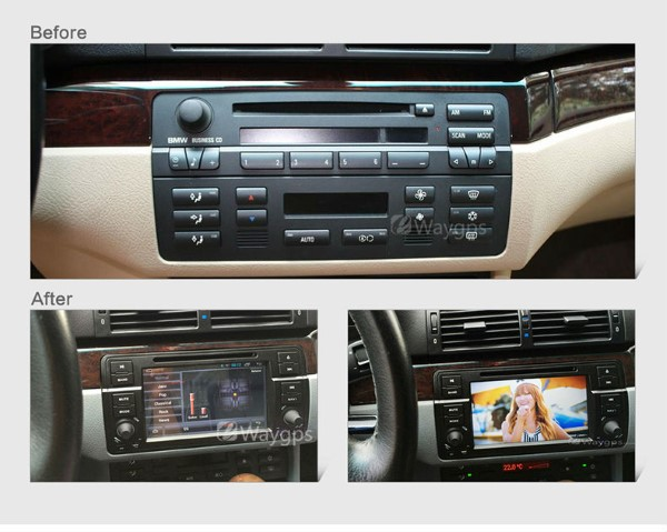 Radio DVD GPS BMW E46 20 s